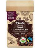 Cha's Organics Clove Whole