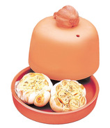 Terra Cotta Garlic Baker