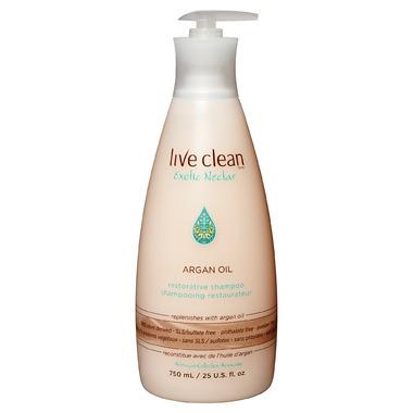 Live Clean Argan Oil Shampoo