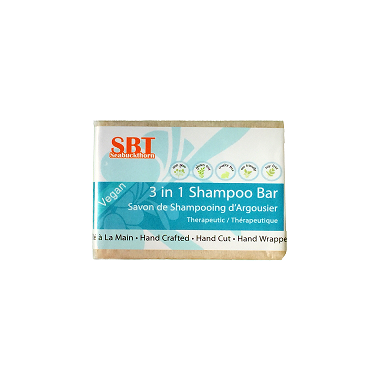 SBT Seabuckthorn 3-in-1 Shampoo Bar
