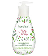 Live Clean Festive Liquid Hand Soap Holly Berry
