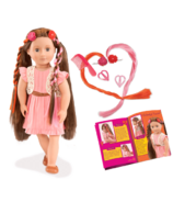 Our Generation Parker Hair Play Doll Set