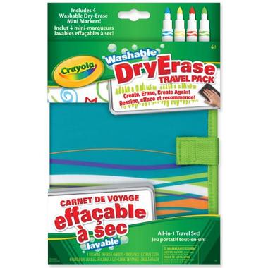 Crayola Washable Dry Erase Travel Pack