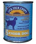 Lick Your Chops Maintenance Formula Senior Dog Food CASE OF 12