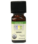 Aura Cacia Lemon Organic Essential Oil