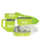 Thinkbaby Complete BPA Free Feeding Set Light Green