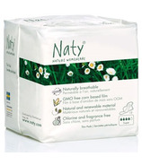 Naty Nature Womencare Organic Sanitary Napkins Super