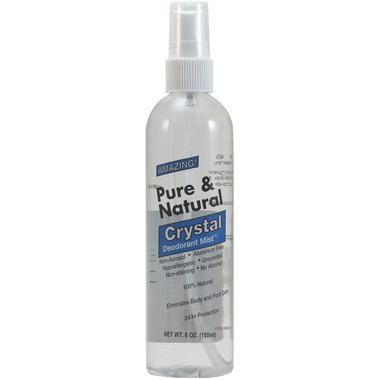 Deodorant Stones of America Pure & Natural Crystal Deodorant Mist
