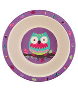 Little Blue House Kids Bamboo Bowl Party Owls
