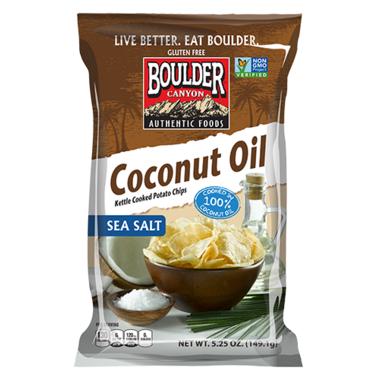 Boulder Canyon Cut Kettle Chips Coconut Oil Chips
