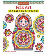 Fox Chapel Folk Art Coloring Book