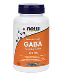 NOW Foods GABA Capsules