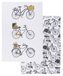 Danica Studio Bicicletta Dishtowels Set