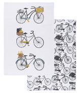 Danica Studio Bicicletta Dishtowels Set