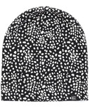 Vonbon Jersey Clouchy Beanie Speckled Black