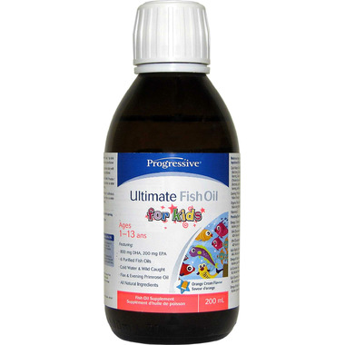 buy progressive ultimate fish oil for kids liquid at well