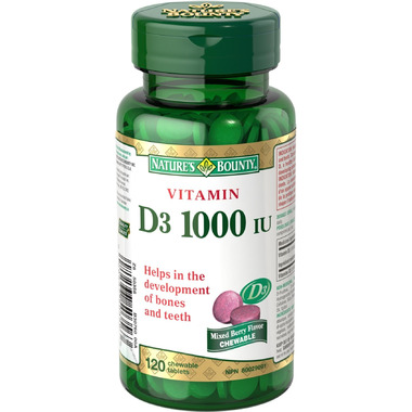 Nature\'s Bounty Chewable Vitamin D