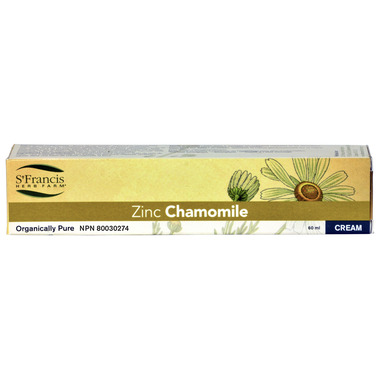 St. Francis Herb Farm Zinc Chamomile Cream