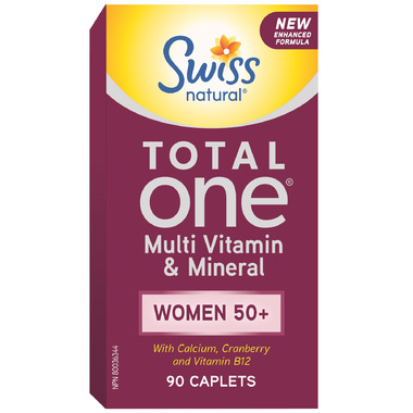 Swiss Natural Total One Multi Vitamin & Mineral Women 50+