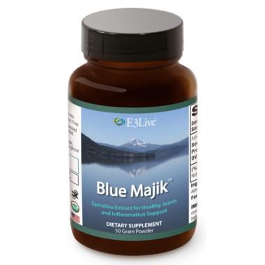 E3Live Blue Majik Powder