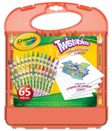 Crayola Twistables Coloured Pencils and Paper Set