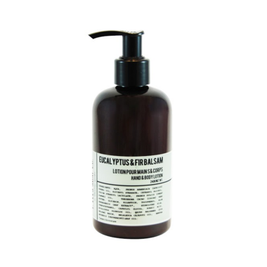 T. Lees Soap Co. Eucalyptus & Fir Balsam Hand & Body Lotion