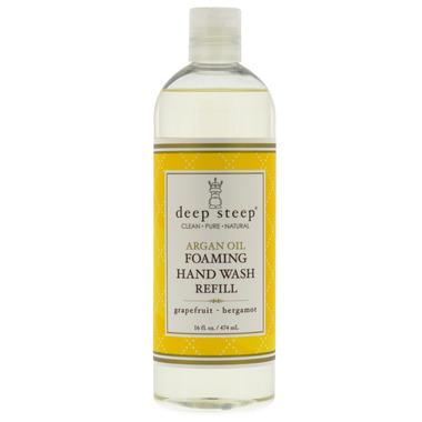 Deep Steep Argan Oil Foaming Hand Wash Refill