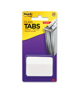 Post-it Angled Filing Tabs White