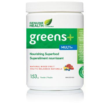 Buy Genuine Health Greens+ Multi+ 153 g Online in Canada | FREE Ship $ ...