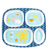 Bumkins Melamine Plate Sea Friends