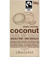 Galerie au Chocolat Coconut Dark Chocolate Bar