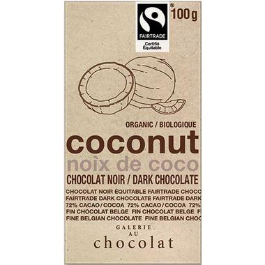 Galerie au Chocolat Coconut Dark Chocolate Bar