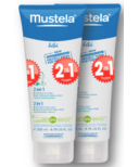 Mustela 2-in-1 Hair and Body Wash Buy 1 Get 1 Free