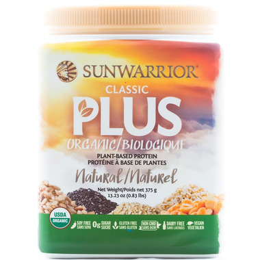 Sun Warrior Classic Plus Protein Natural