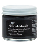 Nelson Naturals Teeth Whitening Treatment with Activated Charcoal