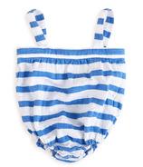 aden + anais Romper Ultramarine Blazer Stripe