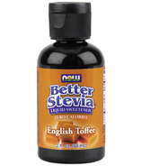 NOW Better Stevia Liquid Sweetener English Toffee