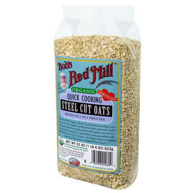 Bob\'s Red Mill Organic Quick Cooking Steel Cut Oats