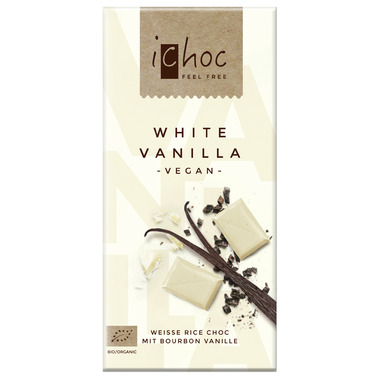 Ichoc White Vanilla Chocolate Bar