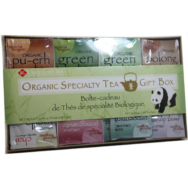 Uncle Lee\'s Teas Organic Specialty Tea Gift Box