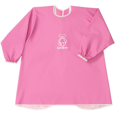 BabyBjorn Eat & Play Smock Pink