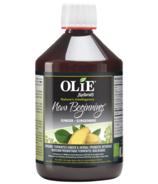 Olie New Beginning Organic Fermented Ginger & Herbal Probiotic Beverage