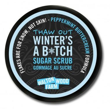Walton Wood Farm Winter\'s A B*tch Sugar Scrub