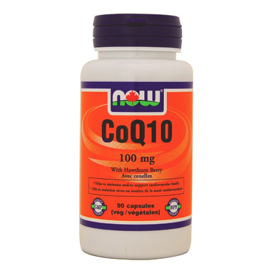 NOW Foods CoQ10 with Hawthorn Berry