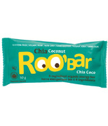 Roobar Chia & Coconut Organic Energy Bar