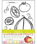 Glob Seasonal Watercolour Prints