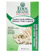 Eden Organic Golden Amber Durum Parsley Garlic Ribbon Pasta