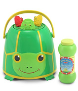 Melissa & Doug Tootle Turtle Bubble Bucket