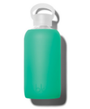 bkr Gramercy Glass Water Bottle Lush Garden Green