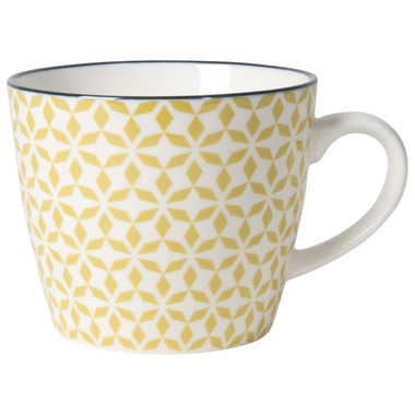 Now Designs Mug Stamped Green Pinwheels